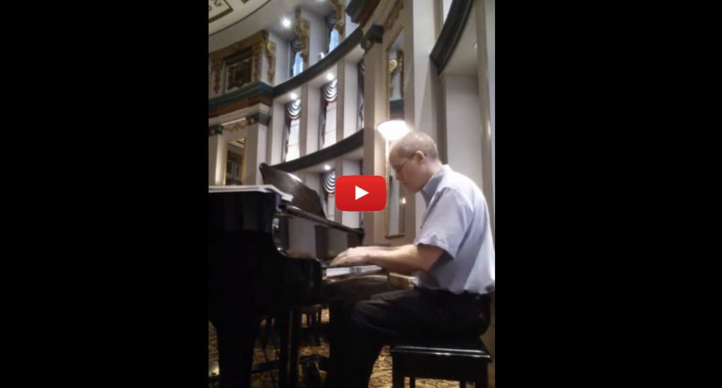 John Saxon's Piano Reading