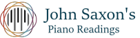 Piano Readings by John Saxon Logo